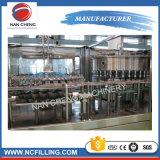炭酸飲料のびん詰めにする生産工場
