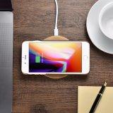 Teléfono celular de carga de carga rápida inducción de la almohadilla de la alfombrilla de 10W Qi Wireless Cargador para iPhone 8 X Cargador inalámbrico incorporado altavoz cargador inalámbrico