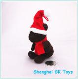 Giocattolo della peluche di Buon Natale dell'orso del cioccolato mini