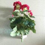 Flores artificiales Gu1469146355226 del geranio decorativo superventas