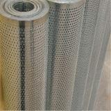 Сетка/нержавеющая сталь/алюминий/оцинкованные жести металла круглых /Slotted/ отверстий Rquare/Perforated