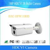 cámara de Dahua del punto negro de 1MP Hdcvi IR (HAC-HFW1100D)