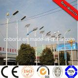 2 Jahre integriertes Solar-LED Straßenlaterne-der Garantie-, LED-Solarstraßenlaterne-40W Cer, RoHS genehmigten IP67