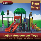 CE Parc de loisirs intéressant les enfants Aire de jeux de plein air en plastique