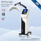 Équipement photodynamique de rajeunissement de peau de thérapie