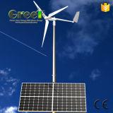 2-5kw het horizontale Zonne Hybride die Systeem van de Wind voor Huis wordt gebruikt
