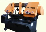 Máquina rotativa de serra de fita horizontal para cortar metais Gd4028X