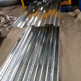 Feuille en acier ondulée de toiture galvanisée par qualité dure de Sgch