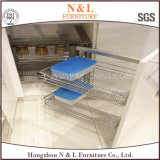 N & L armadi da cucina europei di MFC della melammina di stile