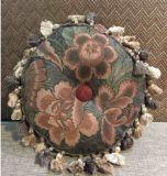 Coxim modelo ajustado do descanso redondo Home bonito do algodão da decoração do jardim