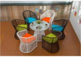 Tables et chaises en plein air Rattan Outdoor Furniture Z385
