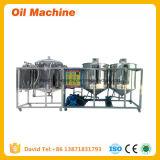 Mini-raffinerie de pétrole pour la vente d'huile végétale un équipement de raffinerie à petite échelle de la machinerie de raffinage de palmiers à huile