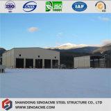 Struttura d'acciaio pre costruita per il magazzino mobile