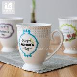 Cuvettes de café en céramique de promotion faite sur commande 11oz