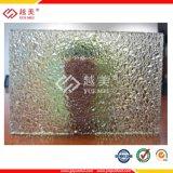 feuille gravée en relief par polycarbonate 3 4 6 10mm clair