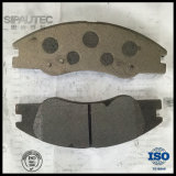 Garnitures de frein de Semi-Métal d'usine de garnitures de frein de la Chine D1074 pour le véhicule de KIA