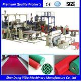 Type creux machine de PVC d'extrusion de couvre-tapis d'étage de S