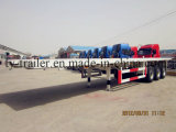 20ft/40ftの平面容器のトレーラーおよび半トレーラー(CTY9310P)