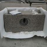 Contre- dessus de vanité du projet G648 de granit