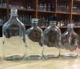 250ml/350ml/375ml frasco de vidro plano