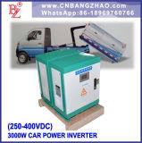 Corrente elettrica al convertitore di tensione di 3 fasi con il trasformatore