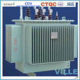 type transformateur immergé dans l'huile hermétiquement scellé de faisceau de la série 10kv Wond de 30kVA S10-M/transformateur de distribution