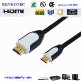 HDMI zum HDMI Kabel Gold überzogenes 1080P