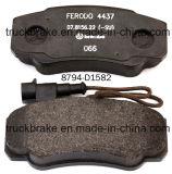 Het Stootkussen D1582-8794/23921/24589/23860 van de Rem van de Schijf van de Premie van de auto