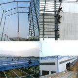 Edificio de acero de la estructura de la construcción con el mejor diseño