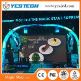 Magic Stage P4.8 tela colorida ao ar livre de tela colorida para palco e publicidade