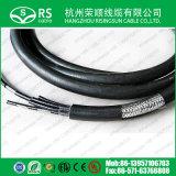 Multiconducteur à faible perte Telecom Câble coaxial BT3002*8coeurs Ce/RoHS