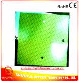 calentador 2700W 914.4*914.4*1.5m m del caucho de silicón 480V