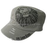 가는 세척된 위장 자수 여가 육군 군 모자 (TMM0915)