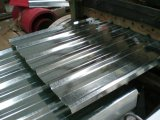 Colorear la placa de acero acanalada revestida
