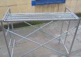 L'aluminium personnalisé d'échafaudages, échafaudage en aluminium OEM