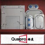 Fabriquant-fournisseur plat Chine de volet de conduit