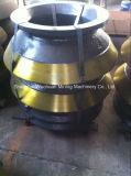 Frantoio Parte Bowl Liner per Metso HP400