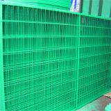 El PVC cubrió el panel de acoplamiento soldado galvanizado de alambre