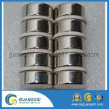 N54 de Magneten van NdFeB van de Cilinder met het Plateren van Ni