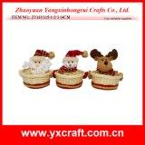 크리스마스 훈장 (ZY14Y362-1-2-3) 크리스마스 훈장 바구니 사탕 선물 바구니 도매