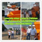 De China bomba elétrica automática do misturador concreto melhor