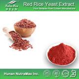 Extrait de levure rouge naturel de riz de 100% (Lovastatin 0.5%-3%)