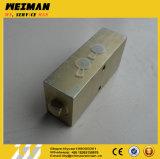 Válvula de verificación del bloqueo 4120001741 de la presión hydráulica de los recambios del cargador de la rueda de Sdlg Bq2201-7e