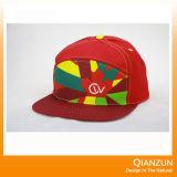bordado 3D 6 chapéus do Snapback do painel para a venda