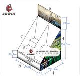 Estante de visualización del estante de visualización de la cartulina/estante de visualización de papel