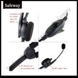 Cuffia avricolare del walkie-talkie per Kenwood Tk3100 Tk3200