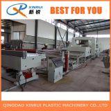 Chaîne de production d'extrudeuse de couvre-tapis de bobine de PVC de deux extrudeuses