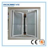 Finestra del PVC della finestra della stoffa per tendine del PVC della finestra della stoffa per tendine dell'isolamento termico di Roomeye UPVC