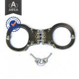 Manchette policière en acier inoxydable avec norme ISO