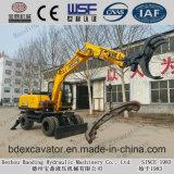 Exkavator Shandong-Baoding, der hölzerne Hersteller greift